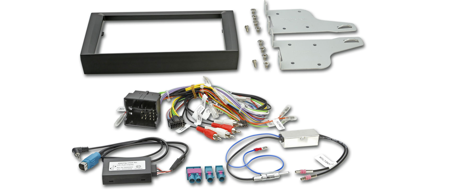 install a new car stereo head unit