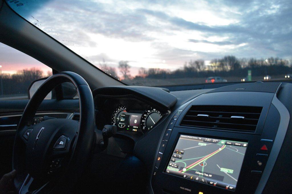 GPS Tracker on Car